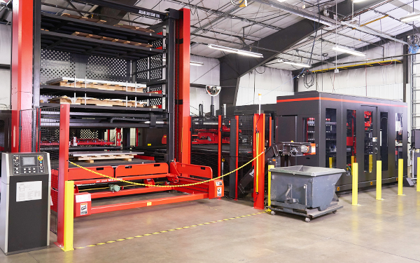 ACIES sheet metal laser and turret combo machine
